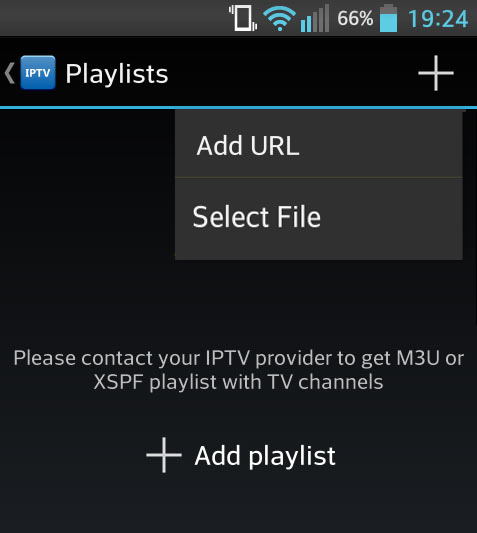 Using IPTV Android